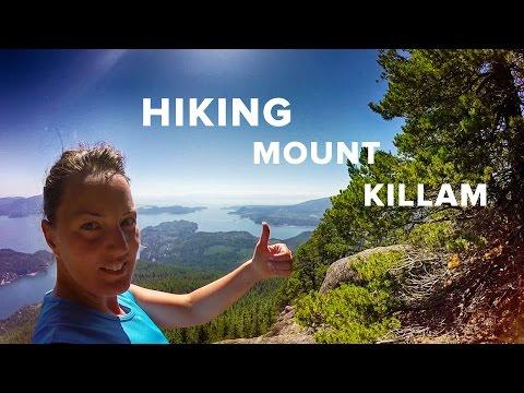 Mount Killam on Gambier Island, BC - Hiking Video