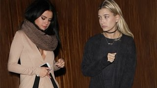 Okay, we guess that must have been awkward. selena gomez was not thrilled when she ran into justin bieber's new lady love, hailey baldwin at the nice guy in ...