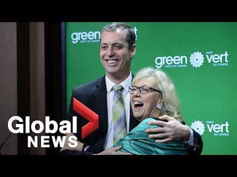 Canada's Green Party Leader Elizabeth May Calls Climate Change 'massive Security Threat'