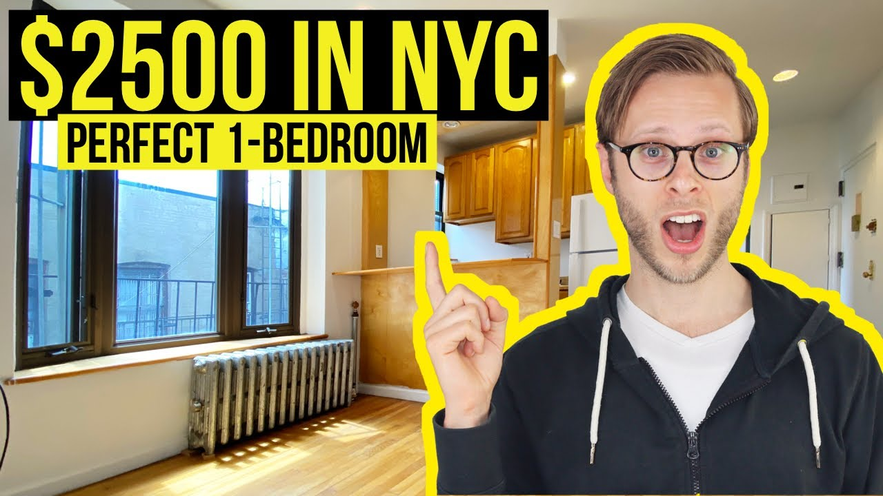 What $2500 gets YOU in Downtown Manhattan | NYC Apartment Tour