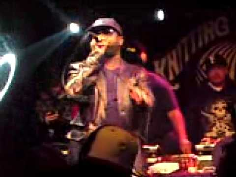 Black Thought (The Roots) - Web - Live at The Knitting Factory 19 Dec 2008