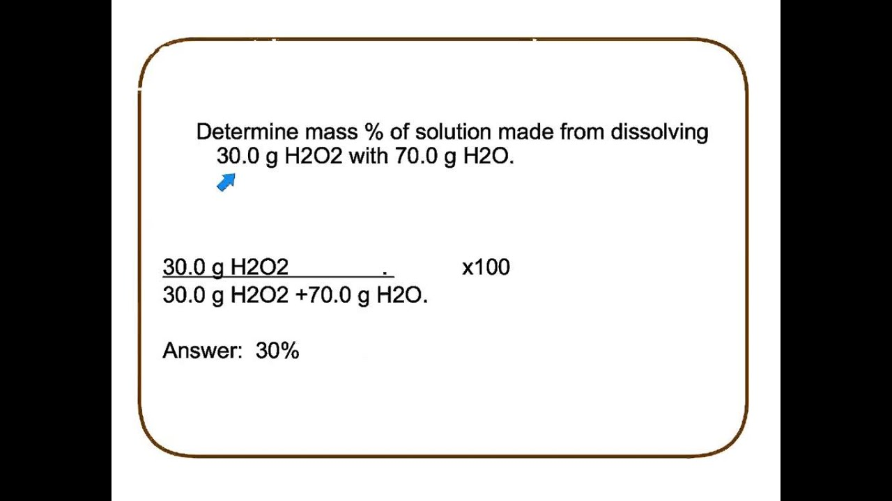 how to work out the percentage of atomic mass