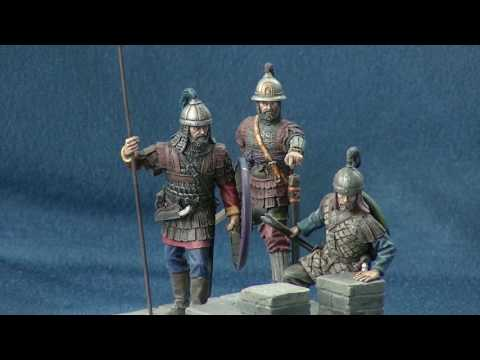 """Chronos Miniatures: """"On the walls of Ikonion"""" in 54mm scale"""