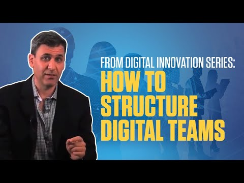 FROM Digital Innovation Series: How to Structure Digital Teams