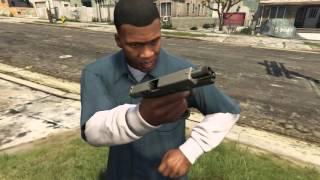 Glock 17 animated for GTA V PC
