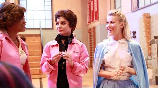 """Justine Magazine: """"Grease: Live!"""" Cast Interviews, Rehearsal and Set Sneak Peek!"""