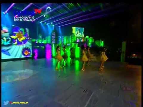 JKT48   Namida Surprise @Acara HUT GlobalTv ke 12 .