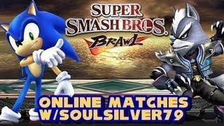 Super Smash Bros Brawl - Online Matches w/SoulSilver79