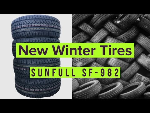 Sunfull SF 982 Winter Tire Review | BMW X1