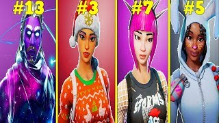 20 BEST SKINS In FORTNITE! (Subscribers Voted!)