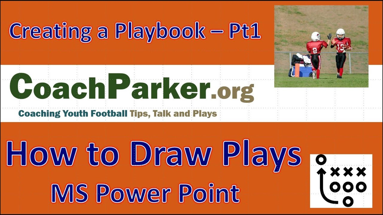 How To Draw Football Plays For 1 Best Custom Play Diagrams