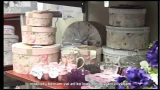 Магазины 100 idejas Tev un Tavai mājai(Больше видео на нашем портале www.avideo.lv. Выбор оригинального подарка - не самоё простое занятие. В преддвери..., 2014-03-06T11:48:18.000Z)