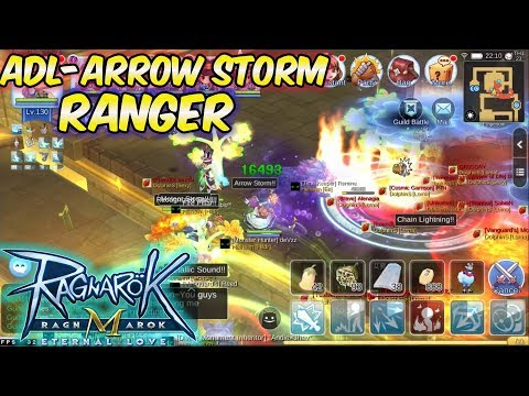ADL-Arrow Storm Ranger WOE Gameplay | Ragnarok Mobile Eternal Love