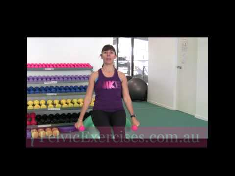 Arm Strength Exercises for Women With Pelvic Floor Problems
