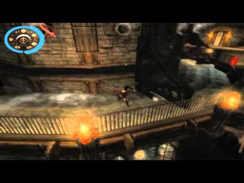Prince of Persia : Warrior Within Clockworks and Mechanical Pit (Past)