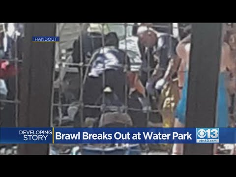 Water Park Brawl In Cal Expo - YouTube