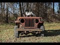 Willys Jeep-A-Trench Walk Around
