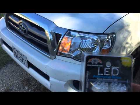 toyota tacoma melted headlight turn signal daytime running light DRL problem
