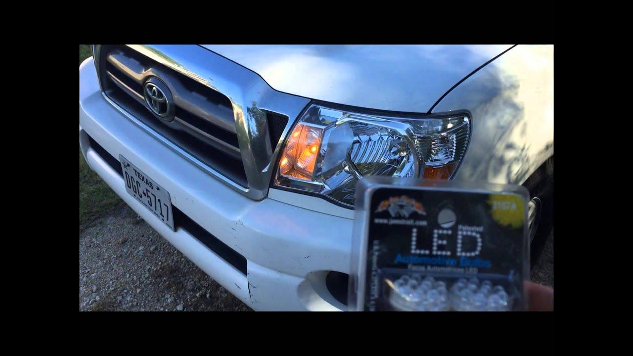 Toyota Tacoma Melted Headlight Turn Signal Daytime Running Light Drl Problem