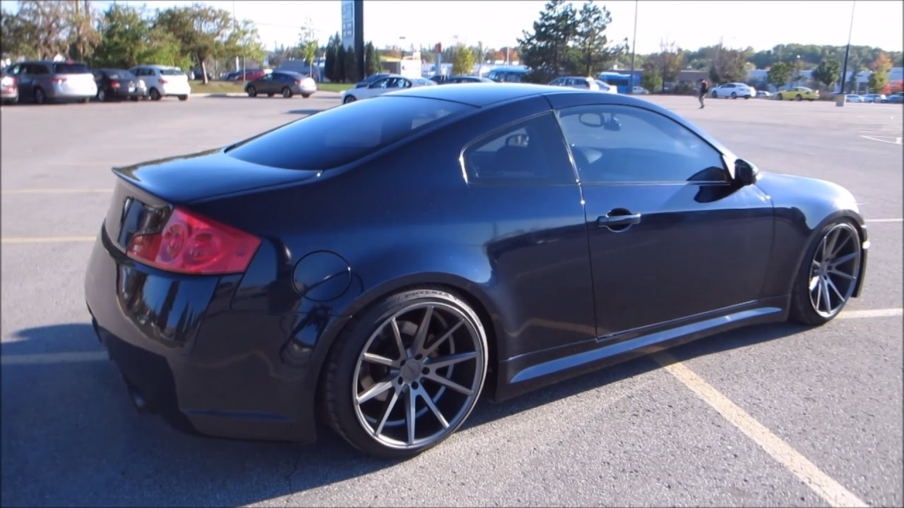 Modded Infiniti G35 Coupe New Front and Suspension UPDATE ...