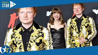 Ed Sheeran Looks Dapper As He Arrives At TheMTV Video Music Awards With Singer Maisie Peters984103