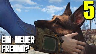 Fallout 4 Gameplay German #5 EIN NEUER FREUND? |  Let