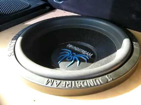 Soundstream T4-12 Subwoofer 1000w rms @2ohms