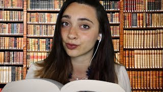 RILASSATI.. SEI IN BIBLIOTECA! ASMR Roleplay | Tracing, Tapping, Keyboard, Reading