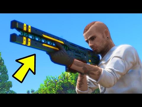 HOW TO GET THE RAILGUN IN GTA 5 ONLINE!...