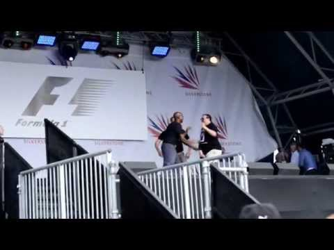 Old Men Grooving -  Silverstone F1 Aftershow Concert 2015