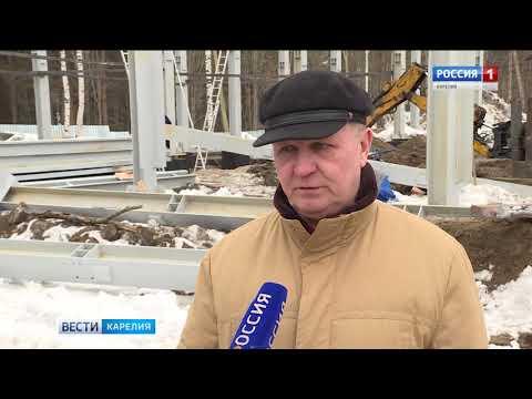 Продолжается реконструкция знаковых объектов в Медвежьегорске