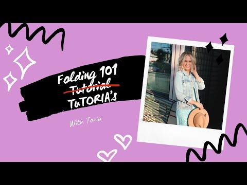 Folding 101 TuTORIA