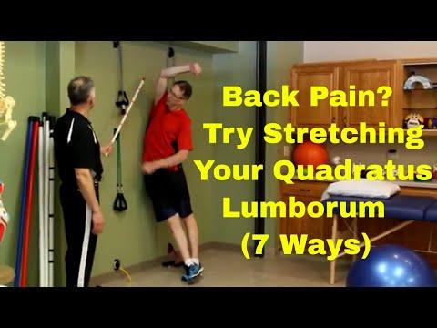 Back Pain? Try Stretching Your Quadratus Lumborum (7 Ways)