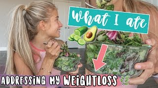 MY WEIGHT LOSS » What I Ate + Food Haul 🥑