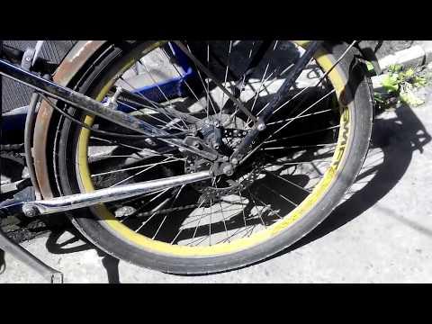 Как установить дисковый тормоз на велосипед без креплений.