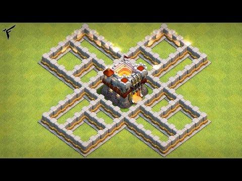 MURA LIVELLO 12 RI-MAXATE !! Clash of clans ITA