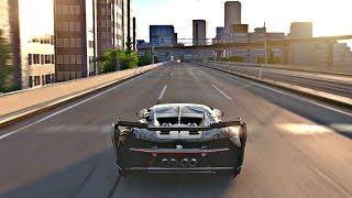 Gran turismo sport - bugatti chiron vision gt gameplay + top speed @ tokyo expressway [ps4 pro]