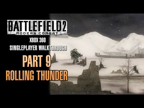 Battlefield 2: Modern Combat Walkthrough (Xbox 360) - Part 9 - Rolling Thunder