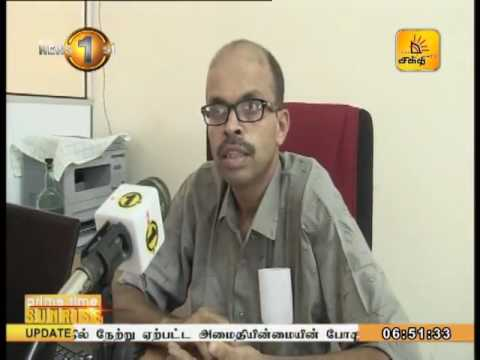 News 1st Prime time Sunrise Shakthi TV 6 45 AM 22nd June 2017