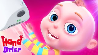 TooToo Boy - Washroom Drier | Animated Cartoons For Children | Funny Animated Short films For Kids