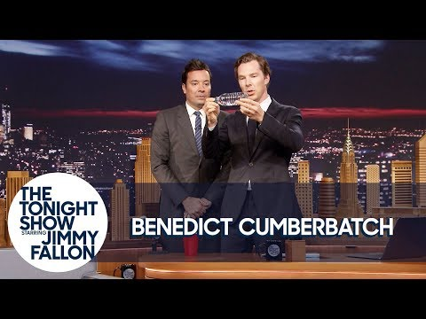 Benedict Cumberbatch s Jimmy a Magic Trick