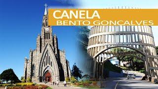 Canela e Bento Gonçalves - Catedral de Pedra - Vinhos - Cascata Caracol