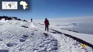 The roof of Africa - Uhuru Peak of Mt Kilimanjaro