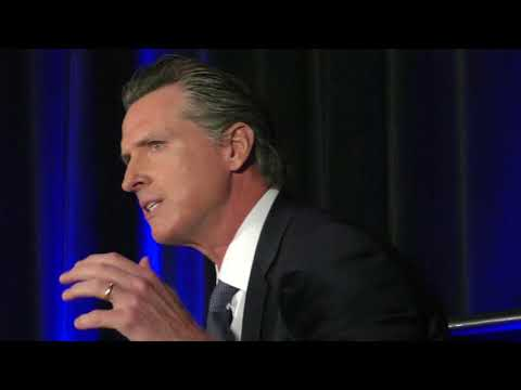 Gavin Newsom at the 2018 Housing California Conference
