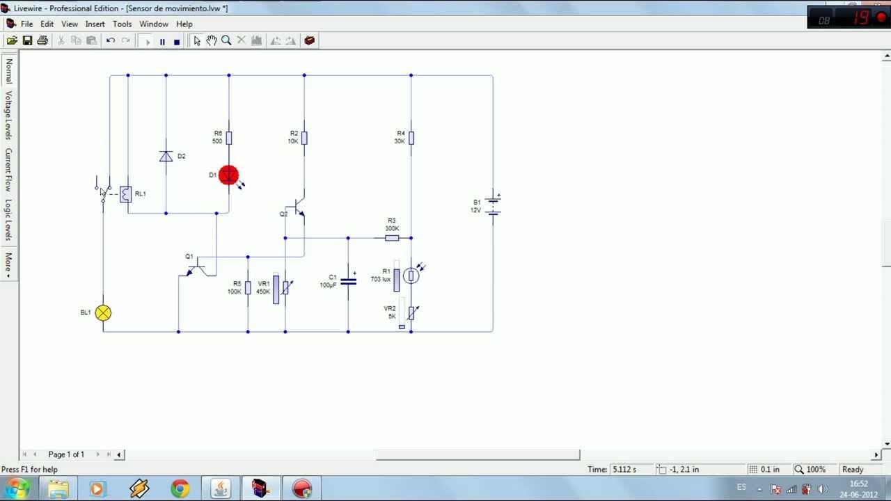 Tutorial de como hacer un sensor de movimiento con - Sensor de movimiento luz ...