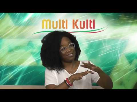 Nicole Smythe-Johnson @ Suriname television program Multi Kulti