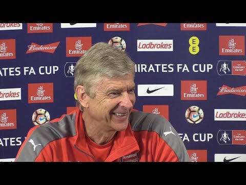 Arsene Wenger Full Pre-Match Press Conference - Arsenal v Chelsea - FA Cup Final