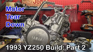 1993 YZ250 Build: Part 2 | Motor disassembly