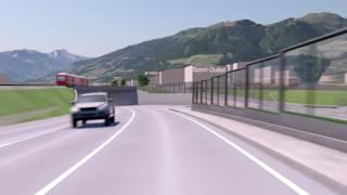 Verkehrslösung Fügen B169