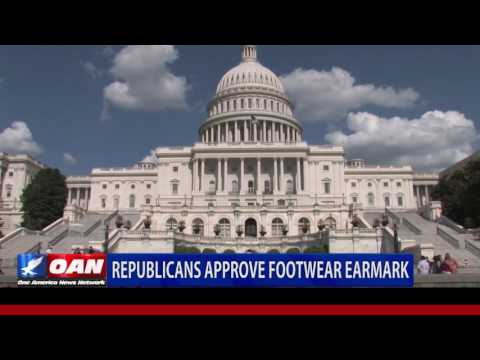 Republicans Approve Footwear Earmark